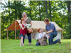 Canvas Tent Family